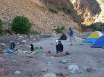 Camping close to the hot springs at Ta Lu La