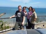 Ollie, Barbara and Moses - Port Moresby pals