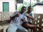 Kudeb & Vela, trainee teachers, Madang
