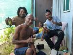 My drinking buddies on Manus